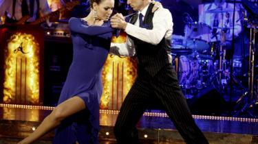 Katrine Bonde og Kristian Jensen røg ud af 'Vild med dans' i sidste uge.