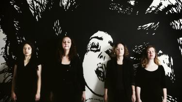 Ord. Ida Marie Hede (tv.), Marie Kudahl, Olga Ravn og Ina Munch Christensen skriver om kropslighed og begær. Men der er ikke tale om en ideologisk søgen, understreger Ida Marie Hede. Det er i højere grad et forsøg på at redefinere, hvad kvindeligt begær er.