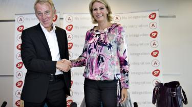 Socialdemokraterne indledte deres historisk tætte parløb med SF på partiets sommergruppemøde i 2008 med lanceringen af en fælles integrationsplan. Siden da har VKO imidlertid gennemført en række stramninger, som kalder på nyformulering af S-SF's politik.