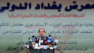 Premierminister Nuri al-Maliki (billedet) fortsætter som leder af den ny regering i Irak, hvor man i går efter måneders uenigheder blandt andet fik formandsposten i parlamentet på plads - den gik til sunnimuslimske Osama al-Nujaifi fra Iraqiya-alliancen.