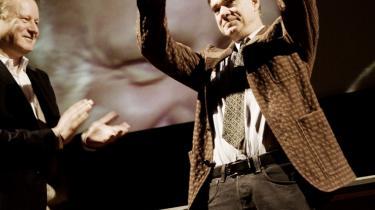 Filminstrukøren Gus Van Sant, som i lørdags modtog en Visionary Award i Stockholm, begyndte sit kunstneriske virke som maler, men det var filmen, som tiltrak ham mest.