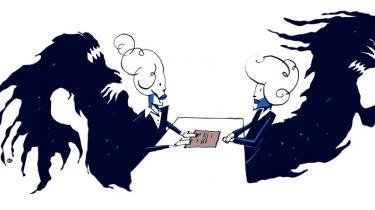 Før finanskrisen lærte vi at elske vores arbejde og betragte forholdet som et passioneret partnerskab. Nu er tusindvis af mennesker blevet skilt fra deres job. Men kan man fyre på den kærlige måde? Det undersøger professor Niels Åkerstrøm i sin nyeste og endnu ikke offentliggjorte forskning