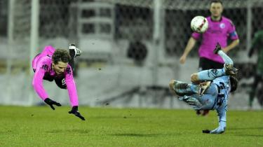 Den ene rekord. En af ugens to rekorder i dansk fodbold blev slået i Randers, hvor FCK fik sin føring i Superligaen op på historiske 19 point.