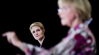 Debatkulturen i Danmark adskiller sig meget fra debatkulturen i Sverige. Eller har i al fald gjort det. Her et debatmøde mellem Helle Thorning-Schmidt og Pia Kjærsgaard.
