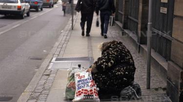 Der bliver stadig flere fattige i Danmark.