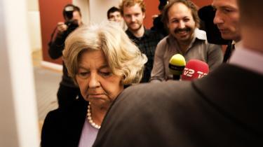 Vedtages forslaget til ny offentlighedslov, får Birthe Rønn Hornbech endnu bedre muligheder for at bruge sin standardbemærkning: Ingen kommentarer.