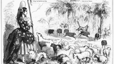 20. december 1860 løsrev South Carolina sig fra the United States og siden fulgte 10 andre stater. Sammen formede de Konføderationen, og i april 1861 udbrød Den Amerikanske Borgerkrig, der varede til 1865, men trækker spor i den amerikanske selvforståelse den dag i dag.
