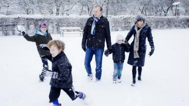 Mads H. Odgaard, 42, hans kone Charlotte og deres tre drenge:   Jonathan på 11, Tobias på 8 år og Noah på 5 år.