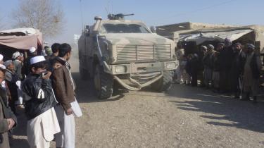 Amerikanske soldater rykkede   i sidste uge ind i Dhani Ghorri-distriktet i Baghlan-provinsen   i et forsøg på at tvinge Taleban-krigerne ud af området.