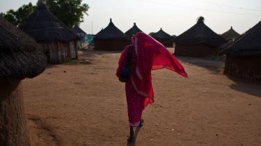 En sydsudansk kvinde er vendt hjem til Juba i Sydsudan til en afstemning, der med altovervejende sandsynlighed vil betyde, at det delvist autonome Sydsudan helt vil løsrive sig fra Sudan og dets islamiske styre i Khartoum.