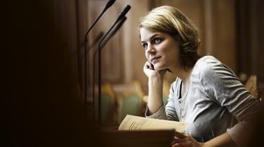 Hos Enhedslisten har moderniseringen ikke været synonym med højredrejning, mener Johanne Schmidt- Nielsen, som i marts 2009 blev udpeget til partiets første politiske ordfører