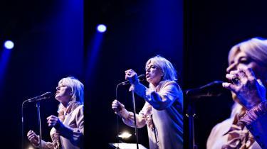 Marianne Faithfull har selv skrevet fire af sangene på sit seneste album.