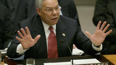Den daværende amerikanske udenrigsminister, Colin Powell, brugte den irakiske afhoppers 'oplysninger', da han i FN's Sikkerhedsråd i februar 2003 fortalte om 'Iraks masseødelæggelsesvåben'.