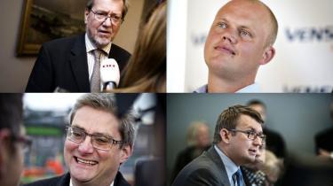 Søren Pind, Troels Lund Poulsen, Per Stig Møller og Peter Christensen får nye ministerposter