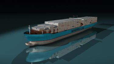 Mærsks 10 nye containerskibe bliver de største skibe på   kloden og skal som de første nogensinde bygges   bæredygtigt efter 'vugge   til vugge'-princippet.