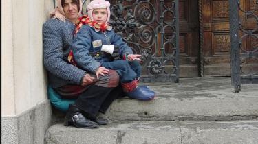 De massive socile problemer med romaer fra Østeuropa er et fælles problem som EU må adressere.