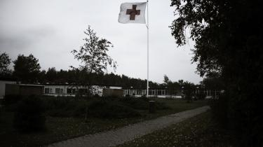 Mens også selvmordsforsøg og selvmordsadfærd registreres på de asylcentre, Røde Kors fører tilsyn med, er det kun livstruende selvmordsforsøg, der figurerer i statistikken fra asylfængslet Ellebæk. Her et af Røde Kors' centre.