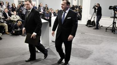 Regeringen har regnet sig frem til, at der skal skaffes 47 milliarder kroner for at sikre fremtidens velfærd i Danmark. Et tal, som de færreste kan være i tvivl om efter at have overværet tirsdagens pressemøde, hvor statsminister Lars Løkke Rasmussen (V) og Konservatives formand, Lars Barfoed, har fremlagt regeringens 'Reformpakke 2020'.