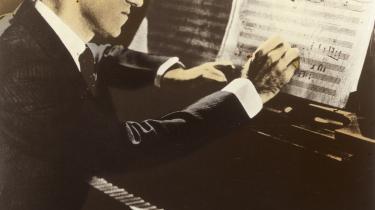 Inkluderet. Komponist og pianist George Gershwin, 1936.