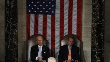 Den amerikanske kongres fik læst og påskrevet, da Benjamin Netanyahu holdt tale tirsdag.