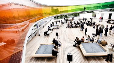 'Your rainbow panorama' skal være mere end blot et brand for Aarhus, mener kunstneren bag værket, Olafur Eliasson