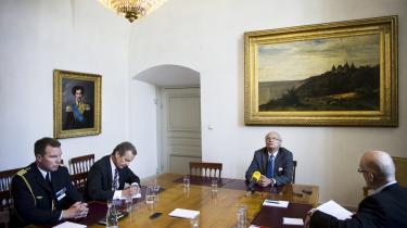 Utroværdig. I en time svarede kongen på spørgsmål fra det svenske nyhedsbureau TT. Efterfølgende er hans svar og optræden blevet vurderet som hamrende utroværdig.