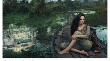 Det vækker harme og forundring, at Louis Vuitton i ny reklamekampagne bruger fattige lande som malerisk kulisse for luksusprodukter