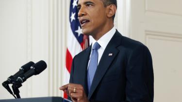 Barack Obama bebudede i sin tv-tale en tilbagetrækning af 33.000 amerikanske soldater   ud af en samlet amerikansk styrke på 100.000 inden september 2012.
