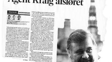 Professor Bent Jensen beskylder Informations tidligere chefredaktør Torben Krogh for at have haft 'nære relationer' til KGB i forskræp til nye afsløringer fra sin koldkrigsforskning