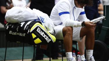 Så har man også set det med: En sund og rask Rafael Nadal udspillet i en grand slam-finale
