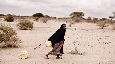 11,5 millioner mennesker i Østafrika er ifølge FN ramt af hungersnød.