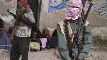 Al-Shabaab er en stor udfordring for nødhjælpsindsatsen i Somalia. De seneste år har oprørsbevægelsen udviklet sig til et enormt økonomisk foretagende baseret på skatteopkrævning. Verdenssamfundet bør gå efter deres indtægter såvel som efter at bekæmpe dem militært, siger eksperter