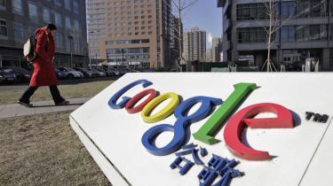Google har beskyldt Kina   for at stå bag en lang   række cyberangreb.