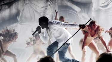 Kanye West viste i Tivoli,   hvilken heftig hitmager han er.