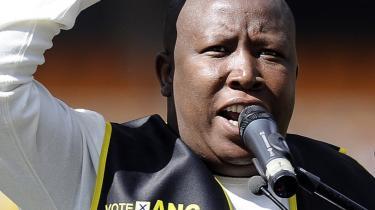 Formanden for ANC's ungdomsafdeling kan blive manden, der gør det af med Sydafrikas tapre eksperiment i demokrati og tolerance