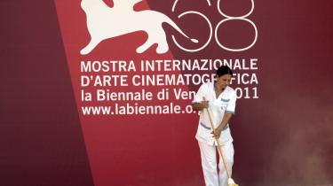 I går var det tid til at gøre de sidste forberedelser op til den 68. filmfestival i Venedig.