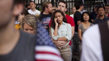 Manhattan var søndag i praksis omdannet til et stort mindesmærke for angrebet 11. september 2011, med gader og områder spærret af og et utal af sikkerhedskontroller markerede vejen ned mod mindedagens epicenter; Ground Zero, ved det tidligere World Trade Center. Her mindedes pårørende til de dræbte og specielt inviterede de ofrene.