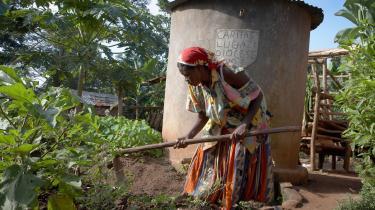 I den nye World Development Report præsenterer Verdensbanken kvinderne som den uudnyttede ressource og nøglen til mere effektiv fattigdomsbekæmpelse i Den Tredje Verden. På billedet ses bonden Najjemba Teopista fra landsbyen Kasaayi i Ugandas Kayunga-distrikt.
