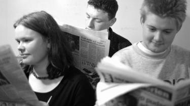 Unge avislæsere er et særsyn. Kun 8 pct. af de 13-14-årige læser avis.