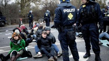 Den 12. december 2009 blev en række demonstranter anholdt under klimatopmødet i København.