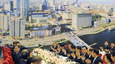 Kina og Taiwan har et anstrengt forhold til hinanden, men mødes – som her – jævnligt i det semiofficielle organ Association for Relations Across the Taiwan Straits. Nu er der måske forsoning på vej mellem de to parter, efter at Taiwans præsident har luftet muligheden for at indgå en fredsaftale.