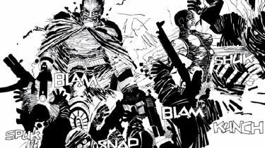 Er den originale, stildefinerende amerikanske tegneserieskaber Frank Miller blevet gal? I hvert fald har han med 'Holy Terror' skabt et på én gang visuelt fascinerende og indholdsmæssigt frastødende værk om kampen mod terror