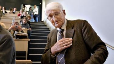 Kritikeren. Jürgen Habermas kritiserer konsekvent demokratisk det europæiske projekt ud fra, hvad det burde være, og ikke udfra nationalstatens snævre målestok.