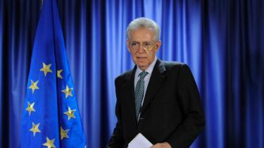 Teknokraten. Den nye italienske regeringschef, Mario Monti, personificerer det kommissærvælde, som den nye struktur i det europæiske samarbejde byder på.