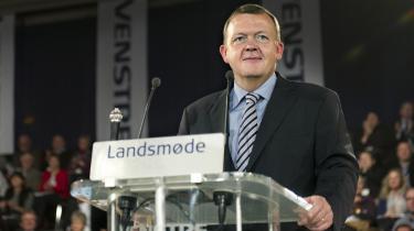 På toppen. Trods tabet af regeringsmagten stod Løkke efter valget stærkere end nogen sinde. Lige til i fredags.