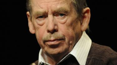 Havel nåede som pensionist at skrive et sidste skuespil, 'Afsked'.