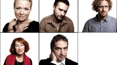 Mød de seks nominerede forfattere