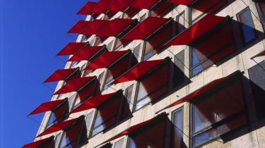 Realkreditinstituttet Nykredit besluttede i denne uge at begrænse adgangen til de afdragsfrie lån med lave start-ydelser og variable renter. Her er det deres hovedsæde i København.