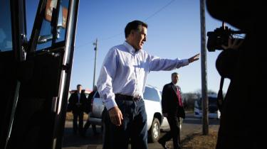 En privat formue på 200   millioner dollar gør republikaneren – og mormonen   – Mitt Romney til den hidtil   rigeste præsidentkandidat i   amerikansk historie.