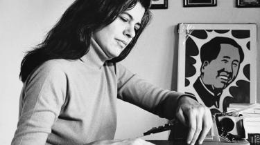 Tekst skal læses som en sanselig overflade, siger Susan Sontag. Arkiv
